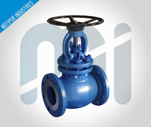 Piston-Valve-Flanged